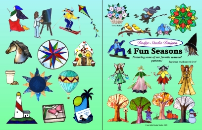 4 Fun Seasons - Patterns-Books